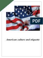 American Culture and Etiquette
