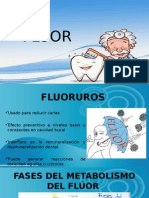 Generalidades del FLÚOR
