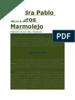 Cátedra Pablo Oliveros Marmolejo