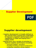 Documents Similar To Supplier Evaluation Matrix