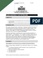 Carga Electrica y Ley de Coulomb TD