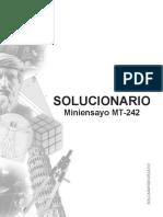 Solucionario Miniensayo MT 242 2013