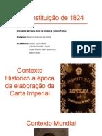 Aula resumo Constituição de 1824