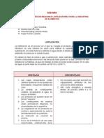 Resumen de Liofilizadores 2