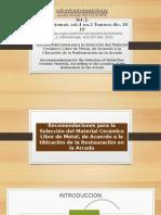 Recomendaciones Para La Selección Del Material Cerámico Libre 3era Cordova