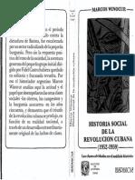 Marcos WINOCUR-Historia Social de La Revolución Cubana (1952-1959), Las clases olvidadas en el análisis histórico