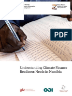 Giz2013 en Climate Finance Readiness Namibia