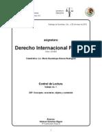 Derecho Internacional Privado concepto, caracteres, objeto y contenido