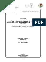 Derecho Internacional Privado la nacionalidad