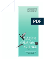 Labeo Dussumieri Population Genetics 2009