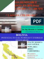 Energia Geotermica en Bolivia- 2008