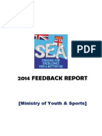 Final Team 14 SEA Feedback Report - Youth and Sports