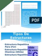 ESTRUCTURAS REPETITIVAS