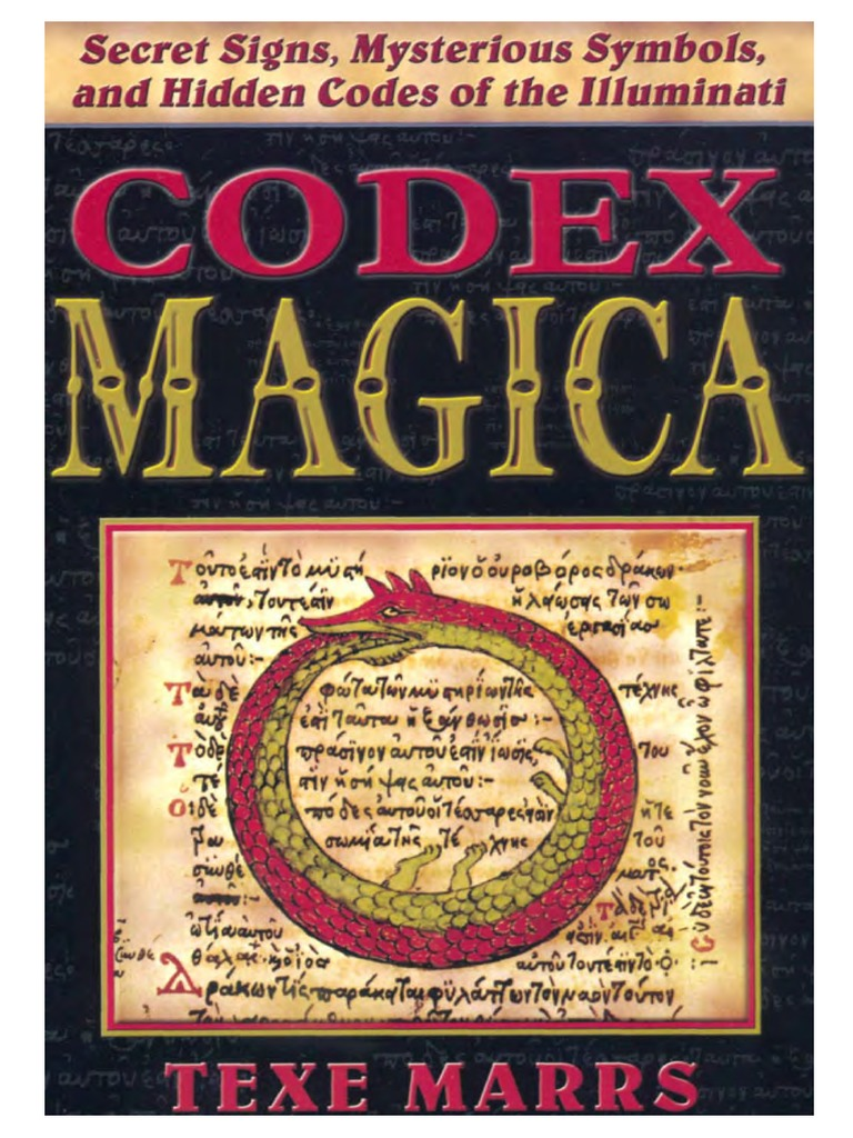 Codex Magica Secret Signs Mysterious Symbols Hidden Codes Of The