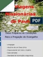 Viagens Missionarias de Paulo