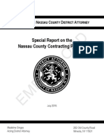 NCDA - Contracting Process Report