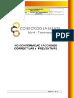Cmt-hq-pr-004 Acciones Correctivas y Preventivas