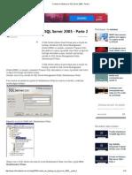 Criando Um Backup No SQL Server 2005 - Parte 2