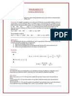 Probability Sample Questions-Compiled