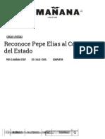 07-03-2015 Reconoce Pepe Elías Al Congreso Del Estado