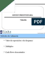 Valuación – DCF 2012