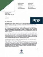 Letter Watson Wynne Stage 2 LRT