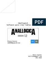 - AnallogicA Software Para Crear Tablas De