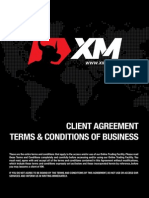 XM Client Agreement Terms and Conditions of Business