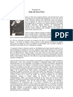 Biografía De Juan de Dios Peza