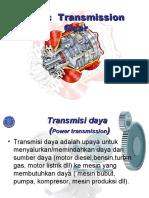 Basic Transmission Gear
