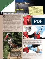 2000 Rock Shox Service Manual | Wear | Screw