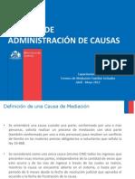 Administracion de Causas 14.04.2012