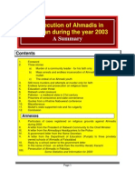 Persecution of Ahmadis in Pakistan during the Year 2003