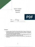 Math 210 SU14 Exam 2 Solutions