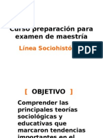 2. Línea Sociohistorica, Actualizada
