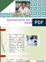 Bioensayo de Plantas Medicinales - Farmacognosia Ppt