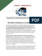 DERIVADOS CAMBIARIOS