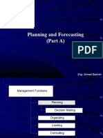 Planning Forecasting Part (A)