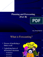 Planning Forecasting Part (B)