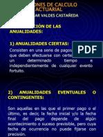 Cálculo Actuarial IGCPA