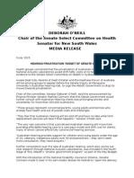 150707MEDIARELEASE-DEBORAHONEILL-HEARINGPRIVATISATIONTARGETOFSENATEINQUIRY