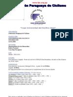 COPA LAGO AZUL DE MTB - 7a Edición