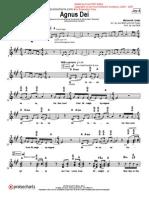 Agnusdei Completo Score y Todo