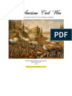 Fire and Fury Civil War Campaign Rules