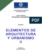 Elementos de Arquitectura y Urbanismo II