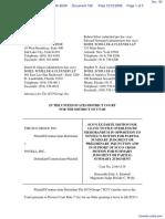 SCO Grp v. Novell Inc - Document No. 182