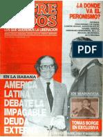 Entre Todos Número 9 - Agosto 1985 - Año 1