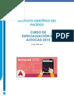Brochure Curso Autocad Completo