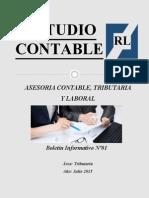 Estudio Contable RL - BI Nº01