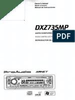 DXZ735M Manual